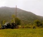 19.000μ ερευνητικών δειγματοληπτικών γεωτρήσεων στη Μεγαλόπολη για την ανεύρεση λιγνίτη (1969)