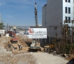 Αντιστήριξη πρανών εκσκαφής σε οικόπεδο για την ανέγερση κτιρίου γραφείων επί της λεωφ. Πειραιώς, στο Μοσχάτο