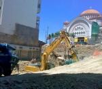 Αντιστήριξη πρανών εκσκαφής σε οικόπεδο στην περιοχή Ζωγράφου