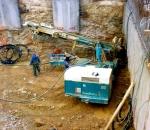 Αντιστήριξη πρανών εκσκαφής σε οικόπεδο στην Κυψέλη