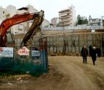 Αντιστήριξη πρανών εκσκαφής (Σκλαβενίτης υπό κατασκευή στη Λεωφ. Φυλής, Καματερό)