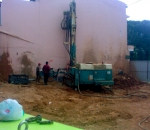 Construction of micropiles Ø250mm in Kifissia