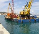 Off-shore geotechnical investigations in Argostoli, Kefalonia