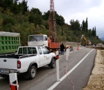 Geotechnical investigation and design for road sliding in Kefalonia