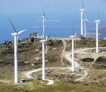 Wind park in Bourlari, Evia (geotechnical investigations and works)